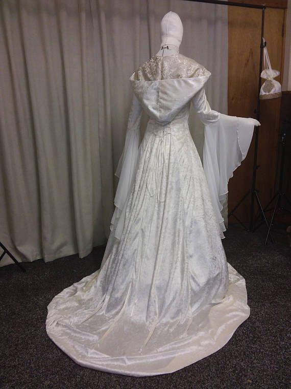 Renaissance dress, Celtic wedding dress, medieval wedding dress ...