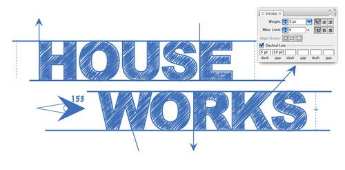 Blueprint-Style Text in Adobe Illustrator Couldnu0027t find this in the - fresh construction blueprint reading certification