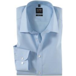 Photo of Camicia Olymp Level Five, vestibilità aderente, braccio extra lungo, azzurro, 40 Olymp