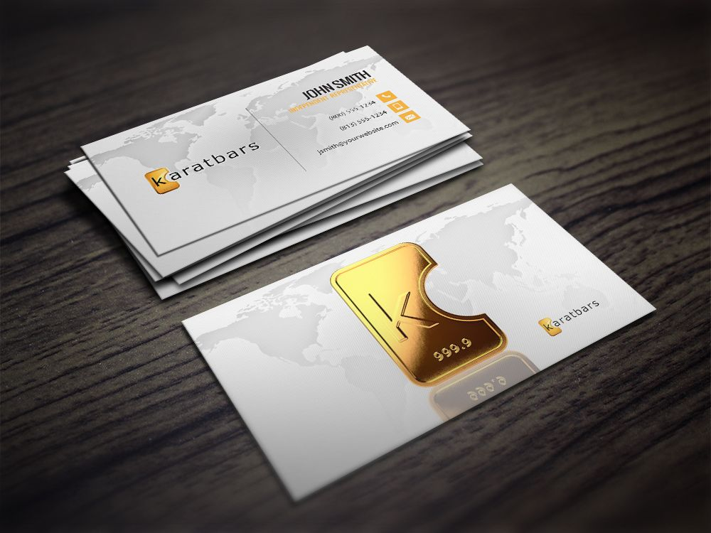 KaratBars Business Cards | Business cards and Business
