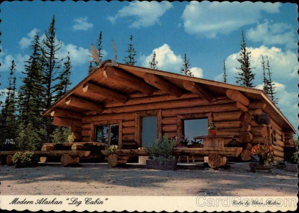 Alaska cabin modern alaskan log cabin rustic cabins for Alaska cabin builders