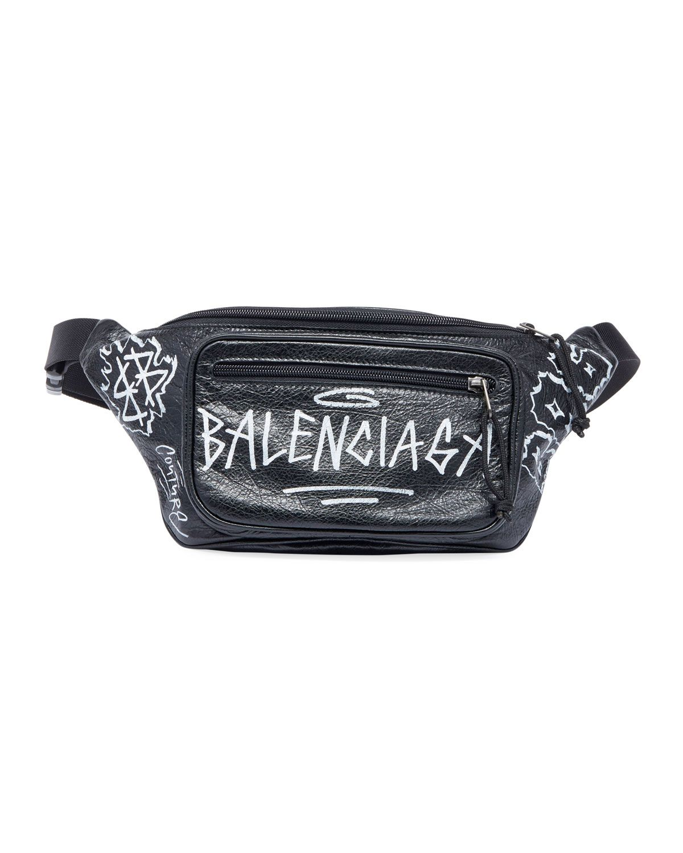 Graffiti Print Belt Bag Waist Bag Bum Bag Hip Bag Art Bag Fanny Pack