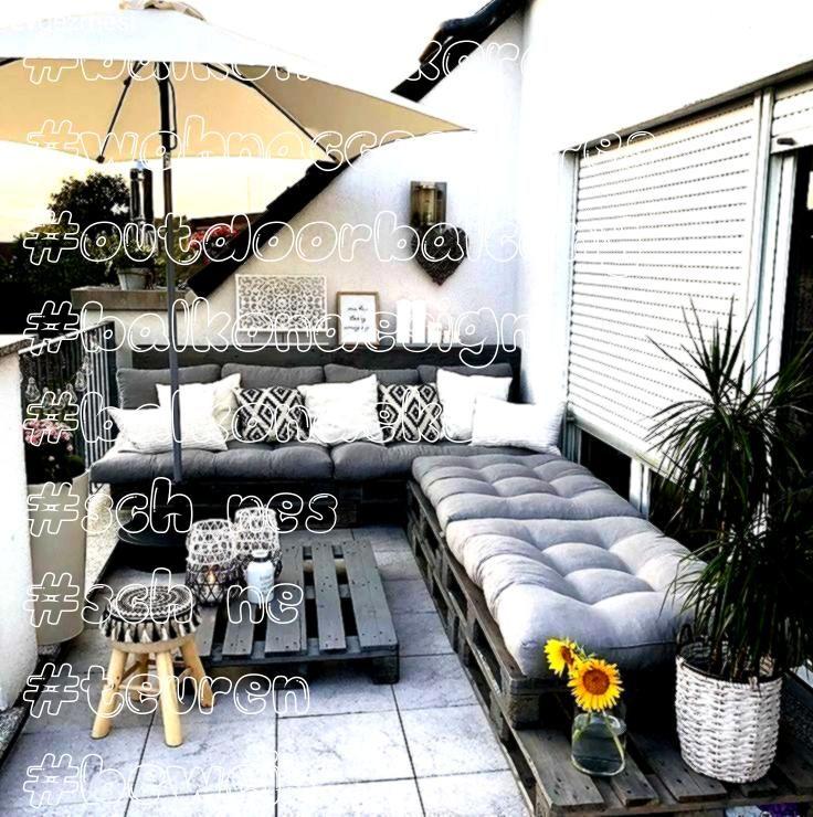 Beweis dass Sie keine teuren Sofas für eine schöne Balkondekoration eine schöne   Wohnaccessoires Der Beweis dass Sie keine teuren Sofas für ein sch&o...