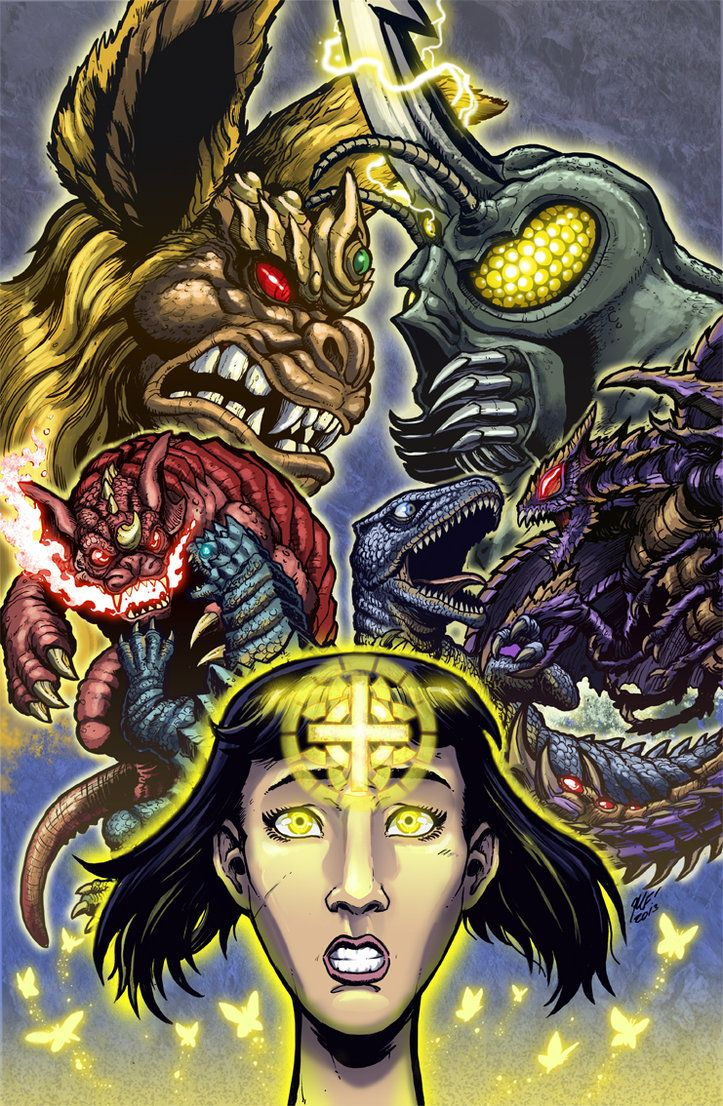 Godzilla Rulers of Earth issue 9 cover by KaijuSamurai on DeviantArt
