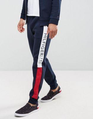 Tommy Hilfiger Denim Track Pants Mens Large
