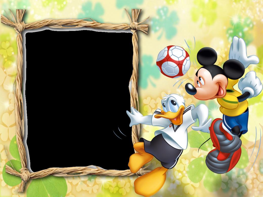 Lndos marcos de fotos de Mickey Mouse y sus amigos. Especial para ...