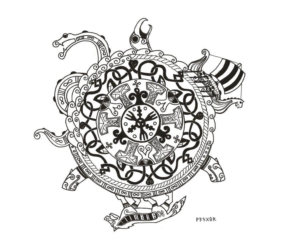 Viking Symbol by kejo13.deviantart.com on @DeviantArt ...