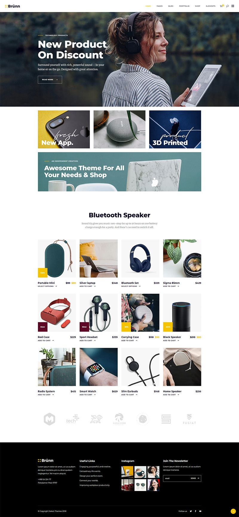 Tech Store Creative Agency Creative Business Web Design