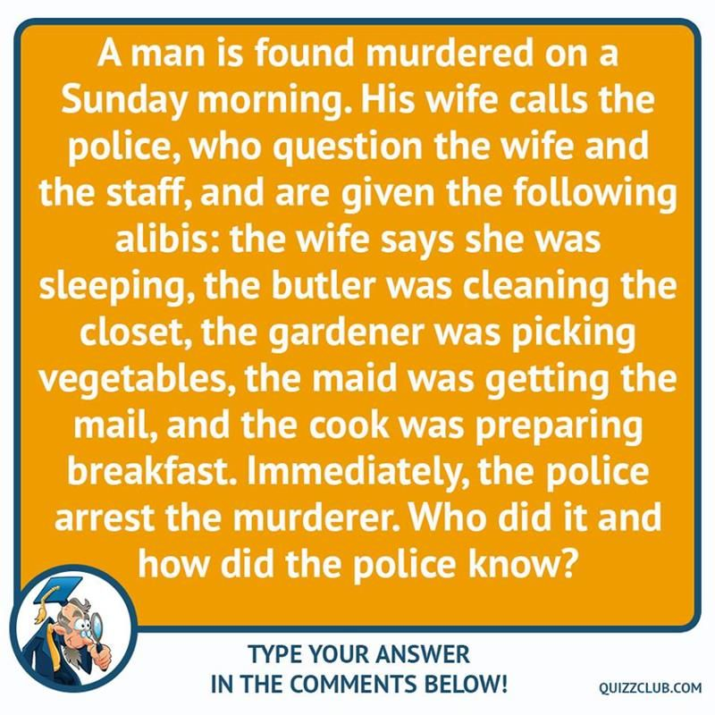 IQ Story 5 mystery crime riddles that would bring out a