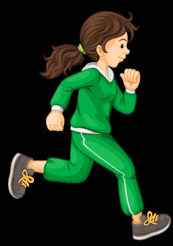 Картинка бегущие дети