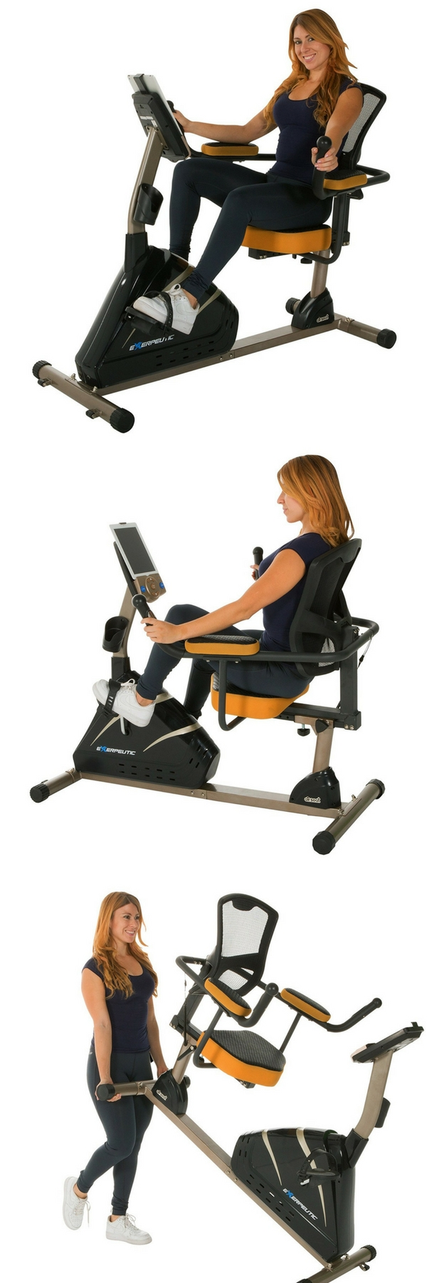 Exerpeutic 4000 Magnetic Recumbent Exercise Bike With 12 Workout Programs Http Www Recumbentbike Best Exercise Bike Recumbent Bike Workout Biking Workout