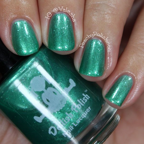 Dollish Polish Be Sure To Drink Your Ovaltine Green Nail Polish Nail Polish Polish