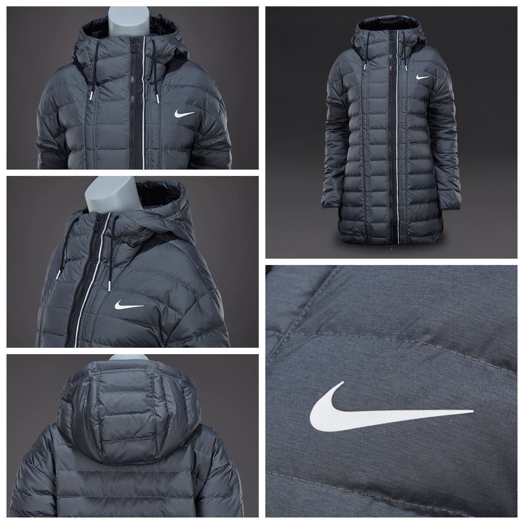Nike Sportswear Womens Victory 550 Short Parka Anthracite