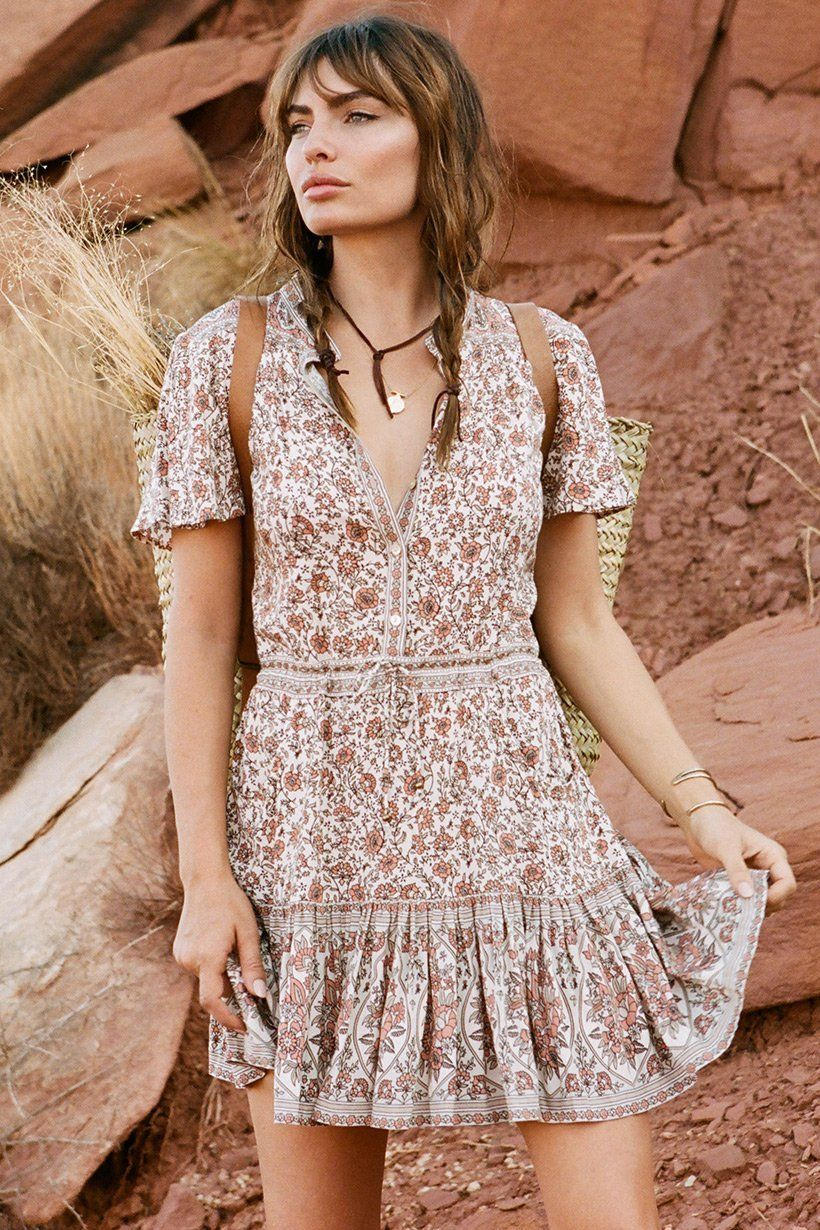 6321e5f18f465 Jasmine Flutter Sleeve Playdress. Jasmine Flutter Sleeve Playdress Jasmine  Dress, Bohemian Style Clothing, Boho ...