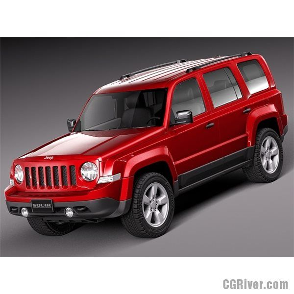 Jeep Patriot 2014 3d Model Jeep Patriot 2015 Jeep Jeep