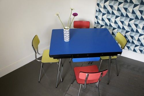 Table et chaises en formica Formica Pinterest Wall papers