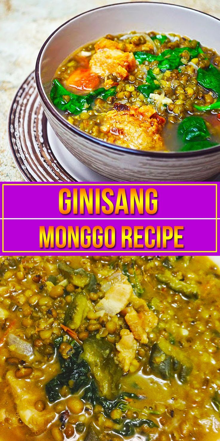 how to cook mung beans soup