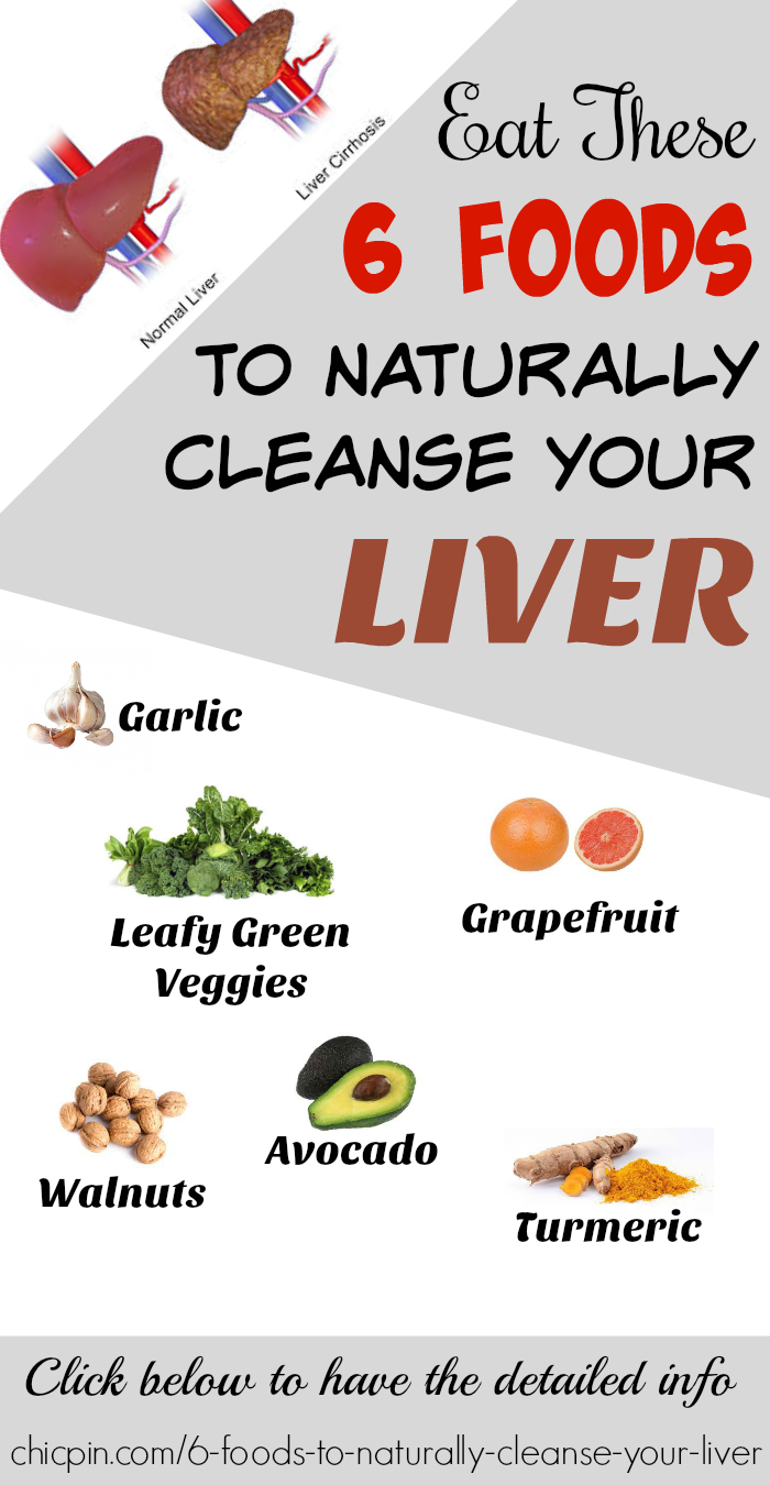 Eat These 6 Foods To Naturally Cleanse Your Liver Health Beauty