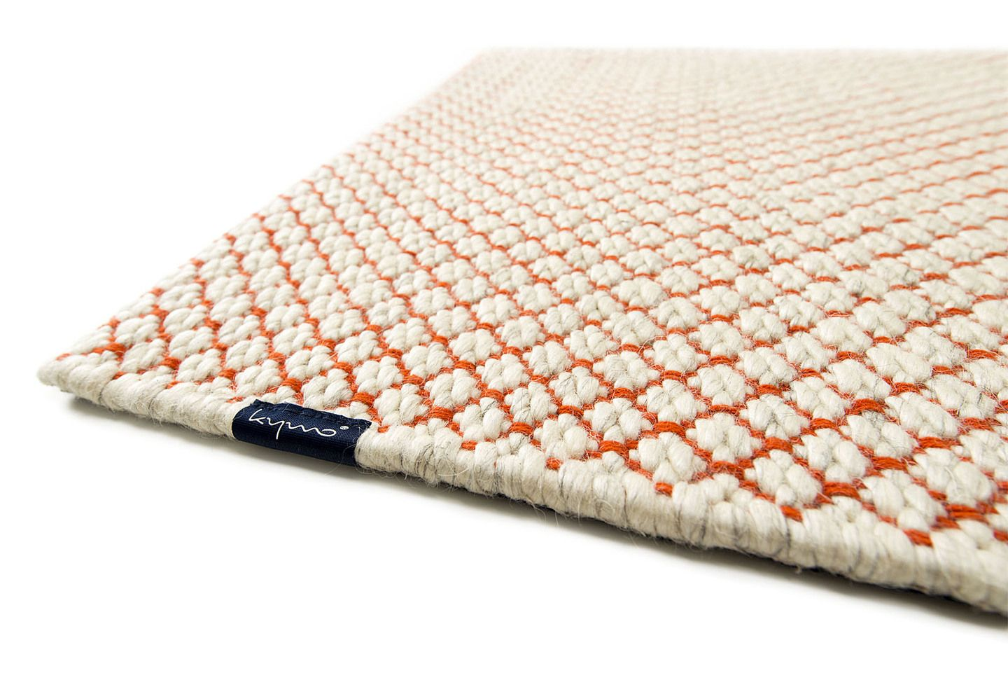 Kymo Shaggy Teppich Wool Range Nordic Flower Kymo Contemporary Floorwear From