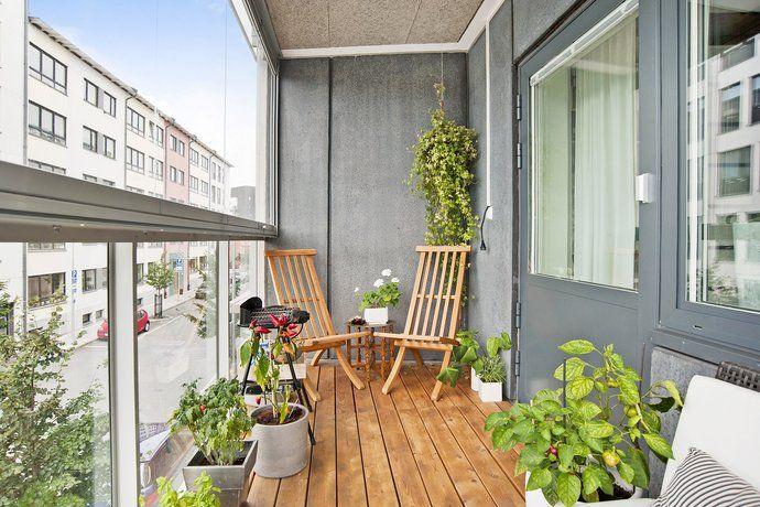 Bilder, Balkong/uteplats, Inglasad balkong, Utemöbler, Blommor ...