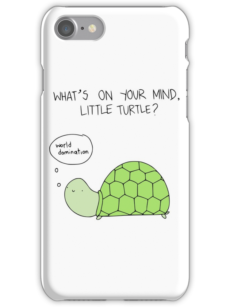 separation shoes 45e68 1fd55 Turtle World Domination | iPhone Case & Cover | Products | Iphone ...