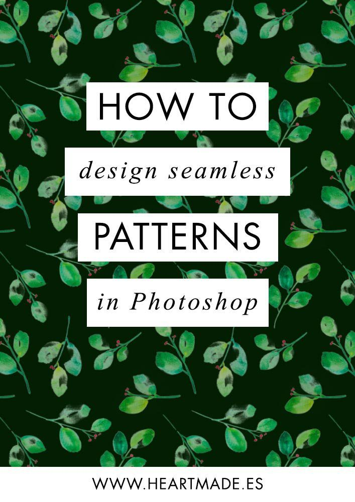 Video Tutorial How To Design A Seamless Pattern In Photoshop Classy How To Make A Seamless Pattern In Photoshop