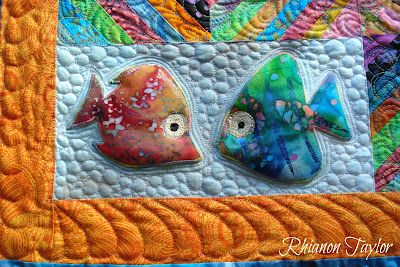 These fish are so cute. The Nifty Stitcher: Search results for fishy throw