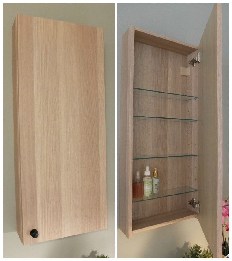 Godmorgon Wall Cabinet With 1 Door White 15 3 4x5 1 2x37 3 4 Ikea In 2020 Ikea Wall Cabinets Wall Cabinet Bathroom Wall Storage
