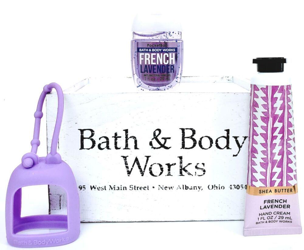 Bath Body Works French Lavender Hand Cream Pocketbac Purple