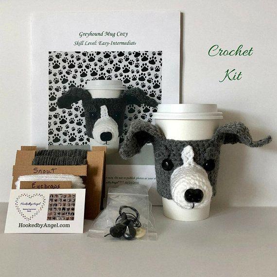 Crochet Kit Greyhound Crochet Pattern Italian Greyhound Greyhound
