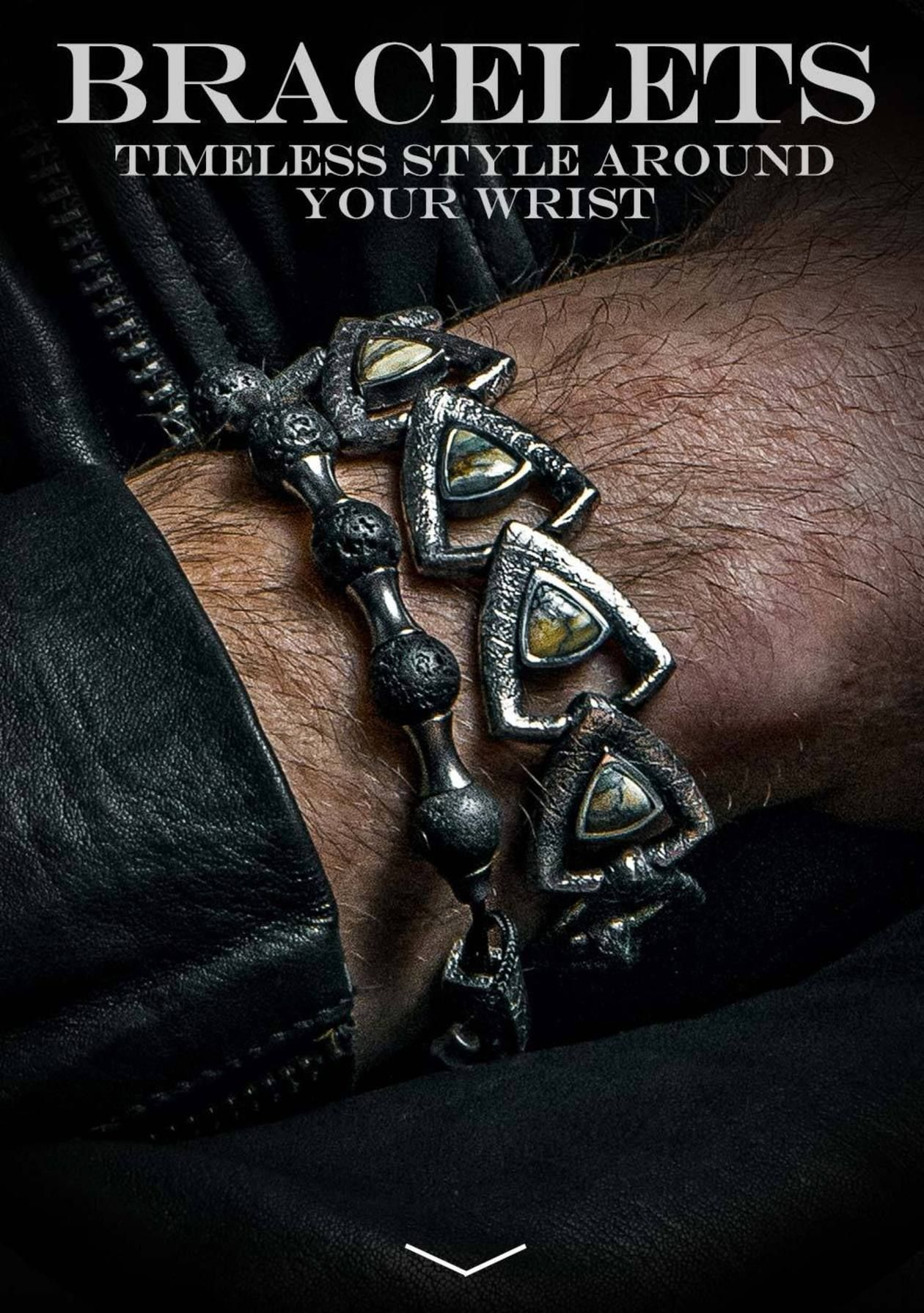 The coolest and most exclusive bracelets for men menusjewelry