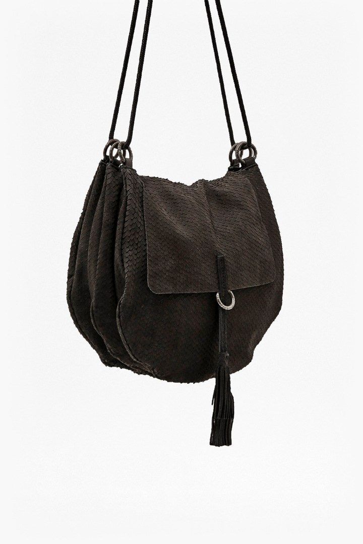 Lycee Leather Saddle Bag | Bags | French Connection Usa
