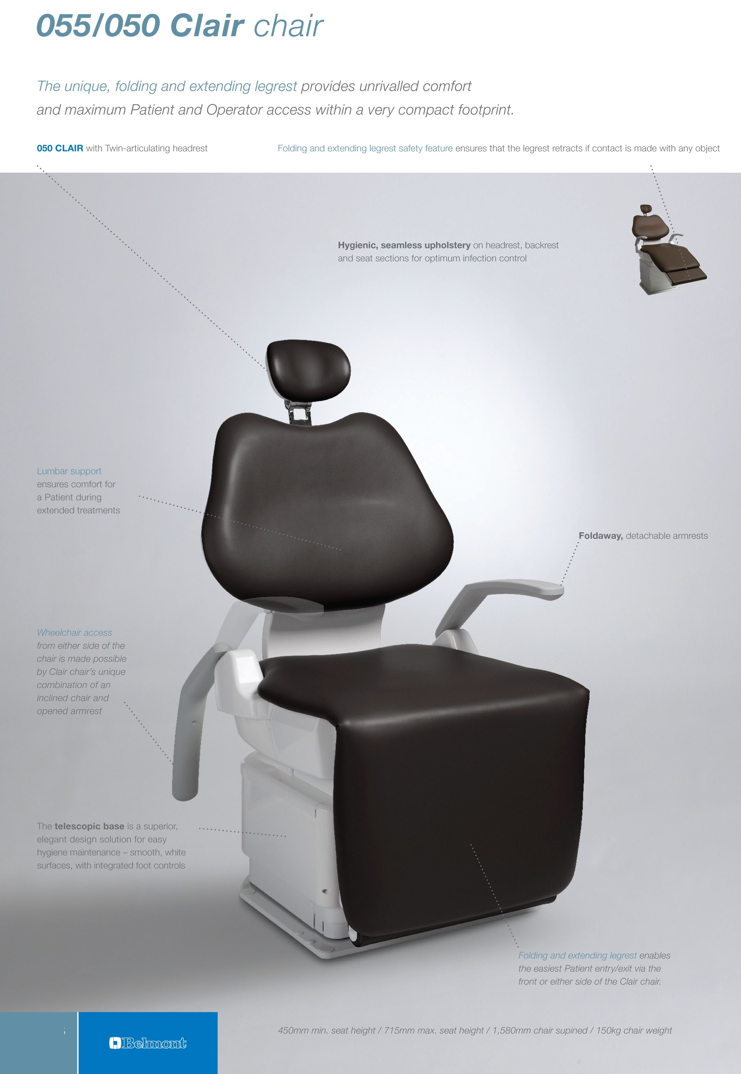 Belmont Dental UK Dentistry DentalChair Chair Takara