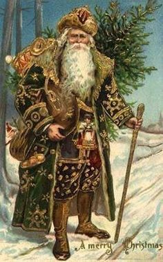 victorian father christmas - Google Search | Father Christmas ...