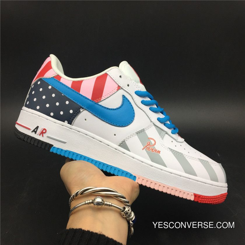 Parra X Nike Air Force One Custom New Release in 2019