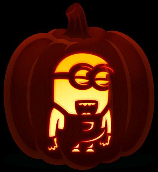 how to carve a pumpkin perfectly 31 free pumpkin carving templates - Minion Pumpkin Stencil