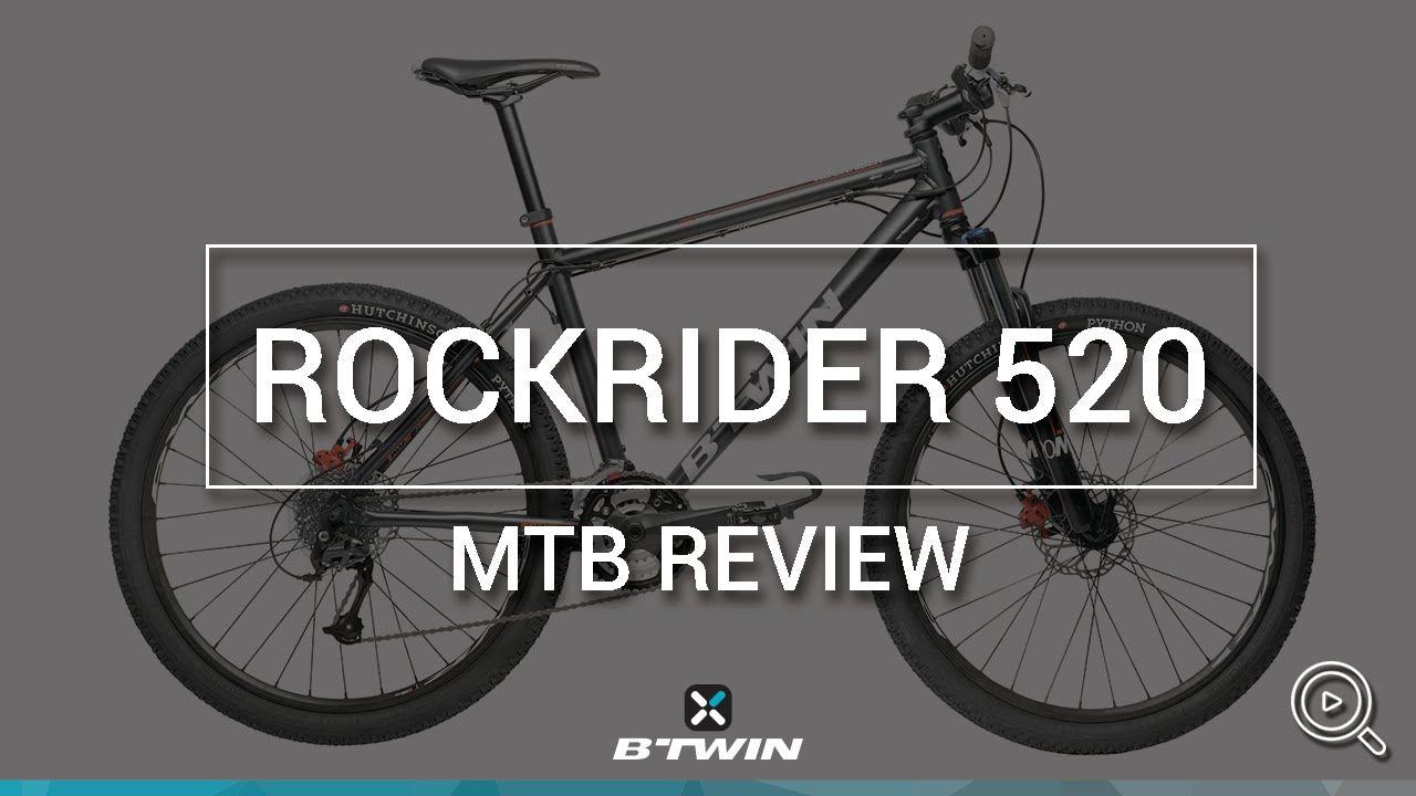 Vtt Sport Rockrider 520 B Twin Mtb Rockrider 520 B Twin Video