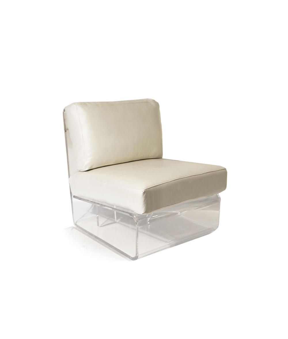 Acrylic Chairs With Cushions Light Blue Accent Clear Chair White Leather No 12 Seating
