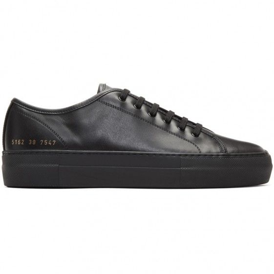 The Most Popular Common Projects Sneakers Black For Men Outlet
