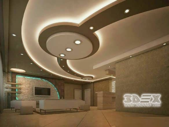 False Ceiling Ideas Lobby false ceiling office cabinFalse Ceiling