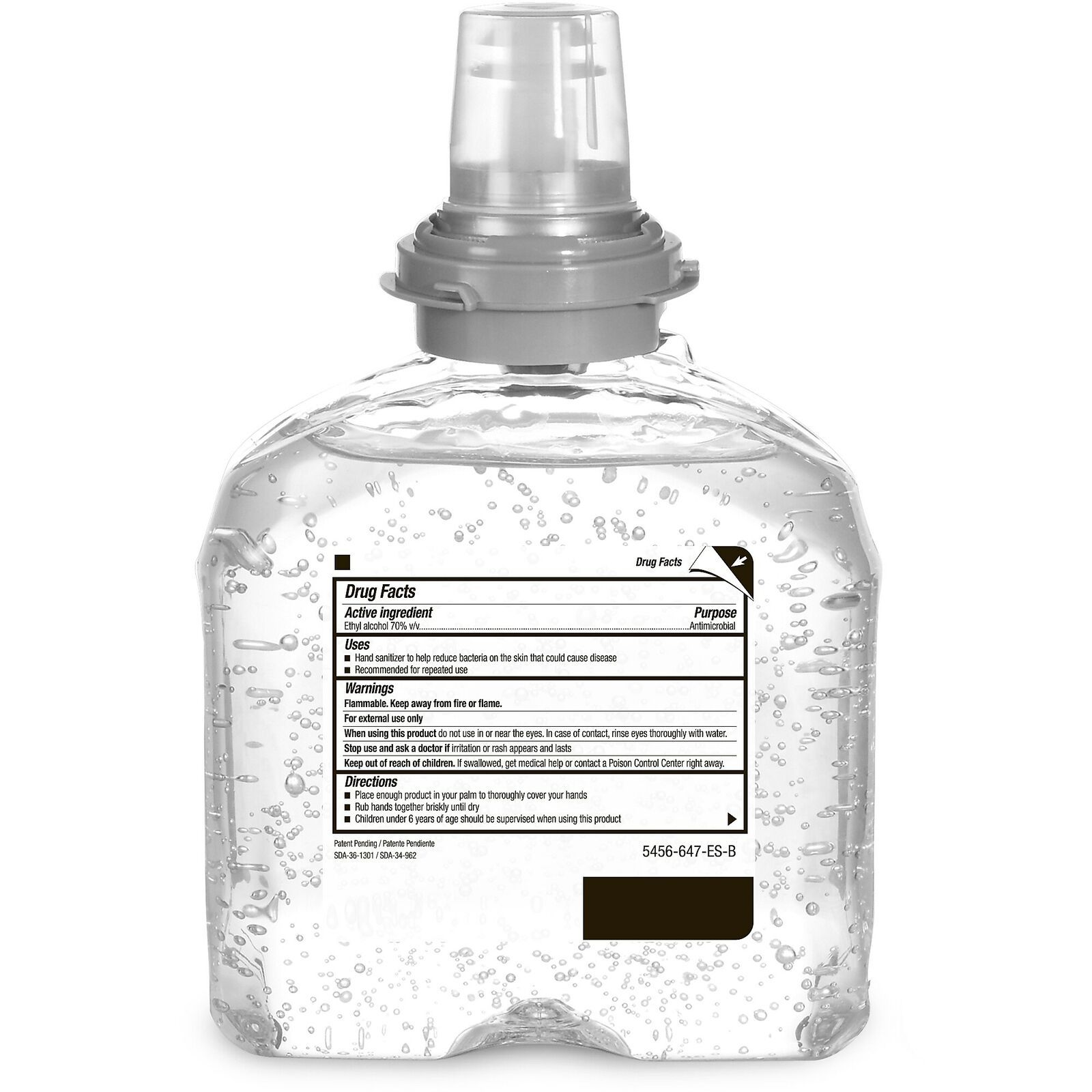 Details About Purell Tfx Advanced Hand Sanitizer Gel Refill 916723