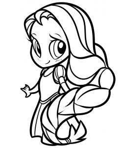Chibi Rapunzel Drawing Tutorial, Step by Step, Chibis ...