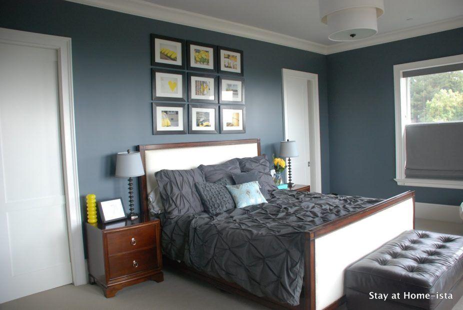 Splendid Light Blue Walls Grey Carpet Bedroom Delectable Blue Grey Feature Wall Bedro Bedroom Color Schemes Blue Walls Living Room Grey Colour Scheme Bedroom