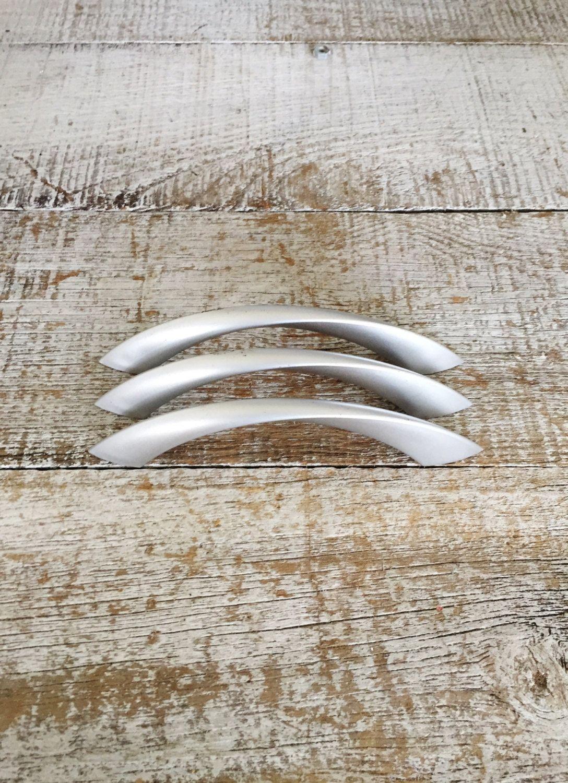 Drawer Handles 3 Drawer Pulls Silver Drawer Pulls Plastic Dresser ...