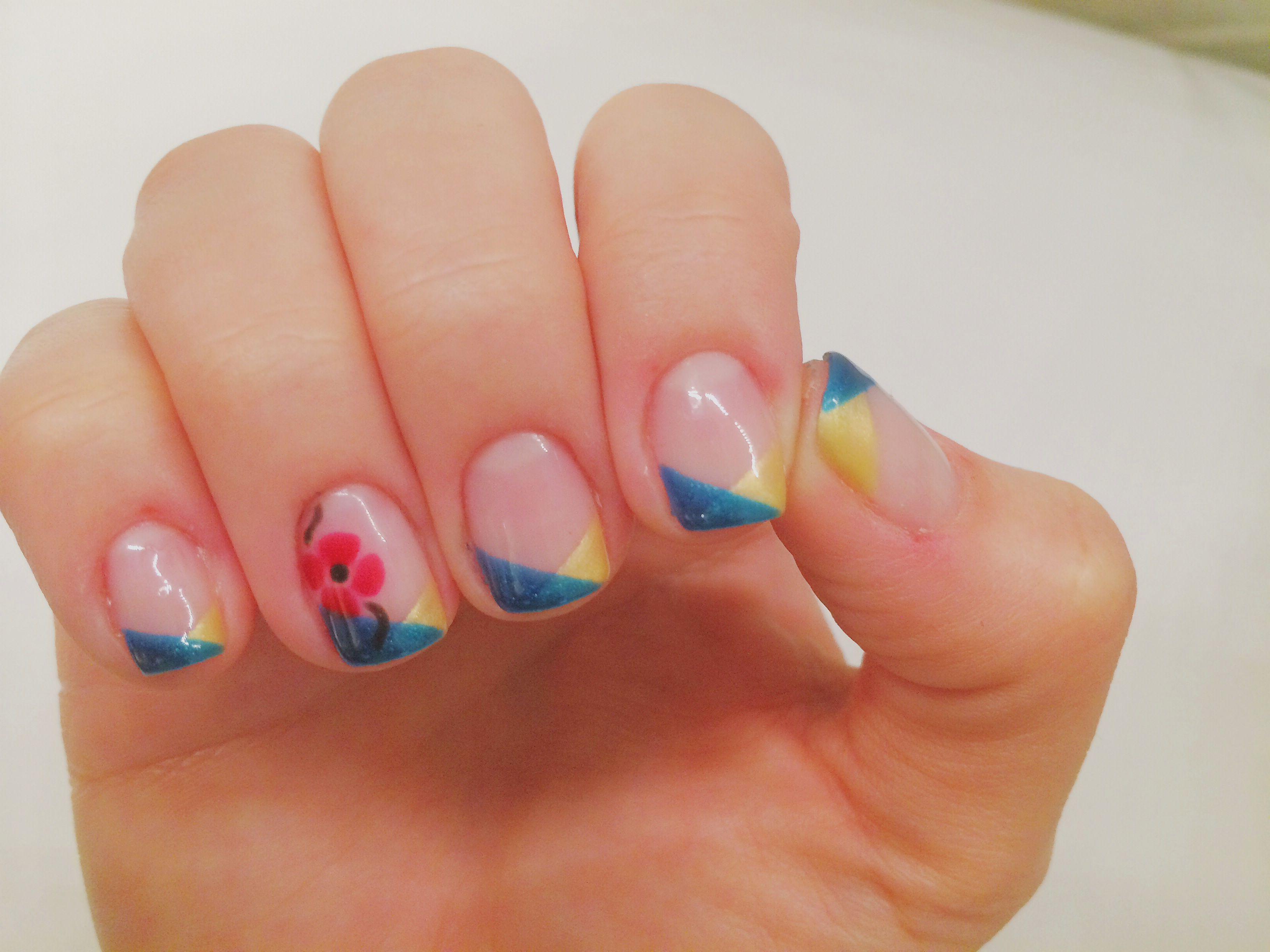 Ukrainian Nail Art Nails Ukraine Nails Nail Designs Nail Art