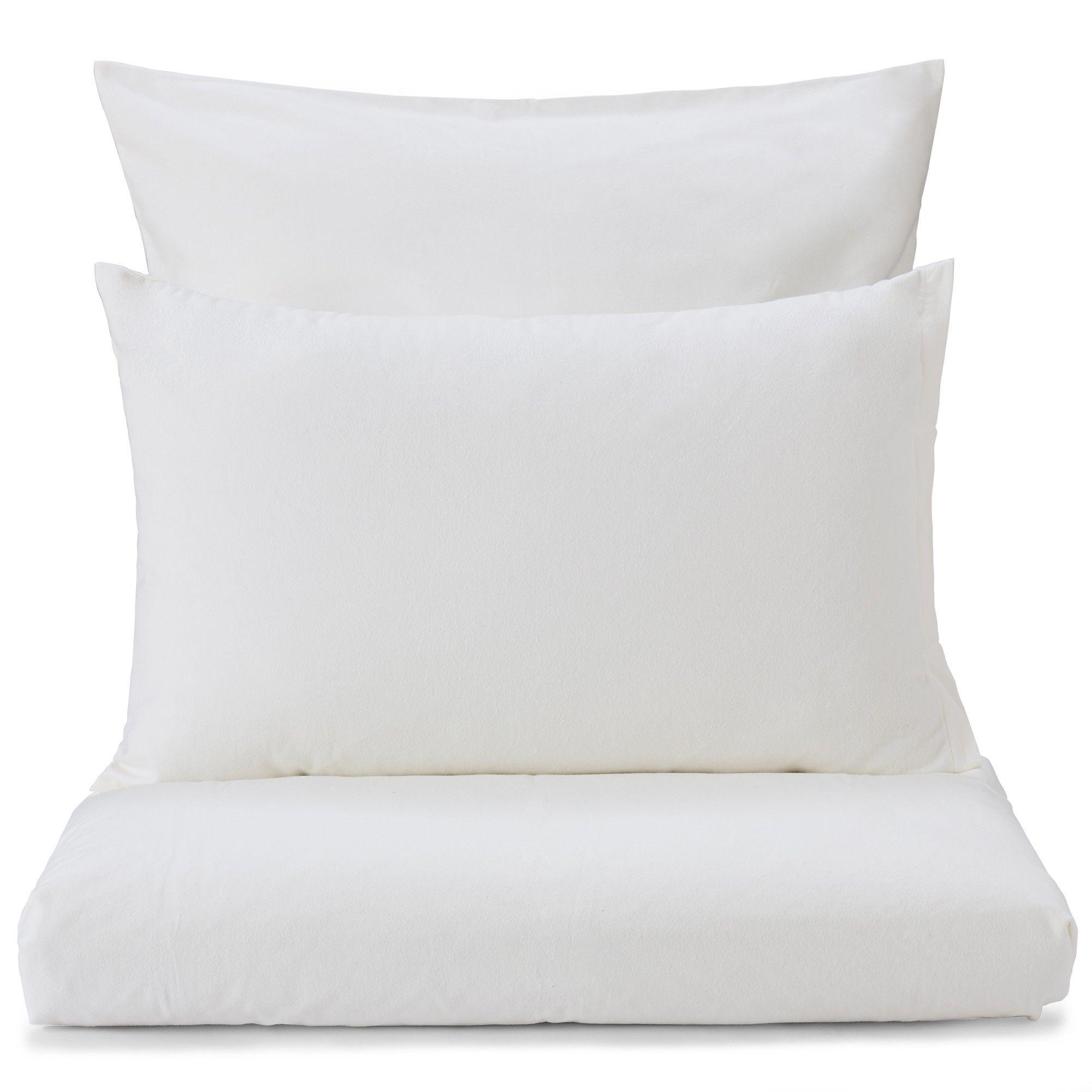 Ganzjährigen Komfort verspricht unsere elegante Flanell-Bettwäsche ...