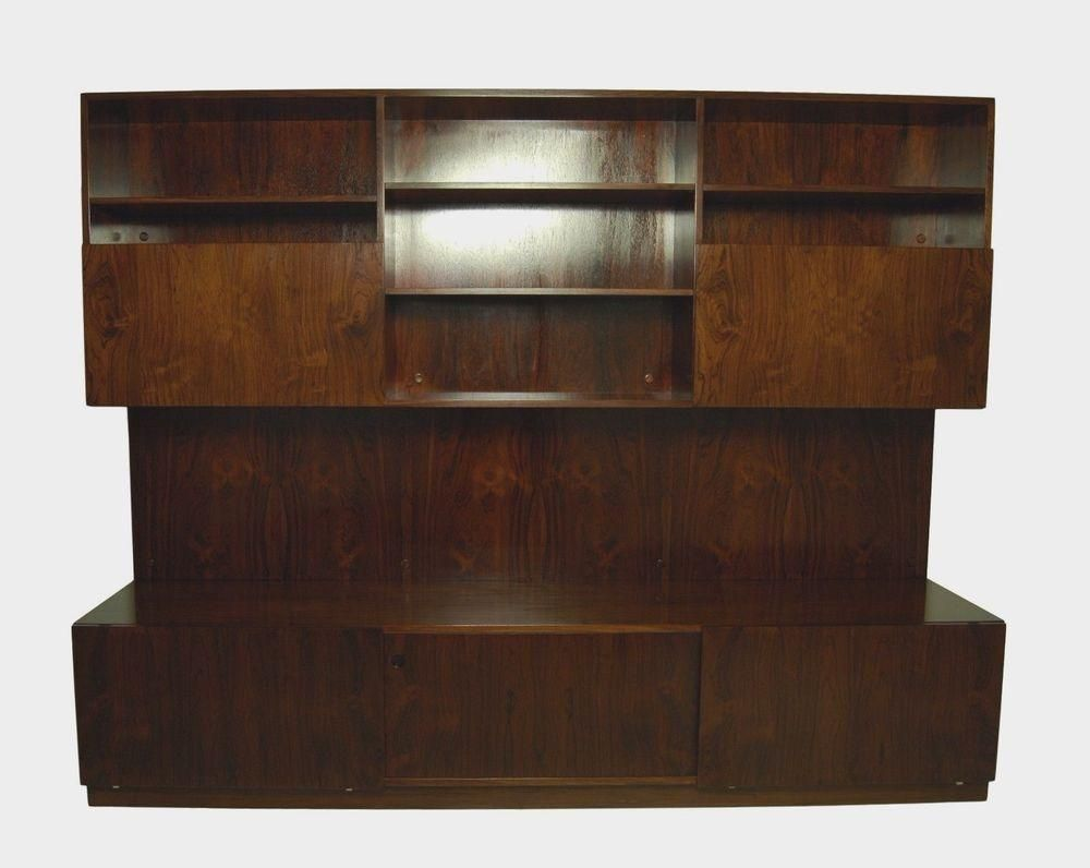 Check out Large Danish Rosewood Wall Unit, Console or Wall System ...