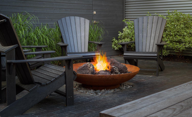 Bol Corten Fire Pit By Paloform Modern Fire Pit Metal Fire Pit Outdoor Fire Pit