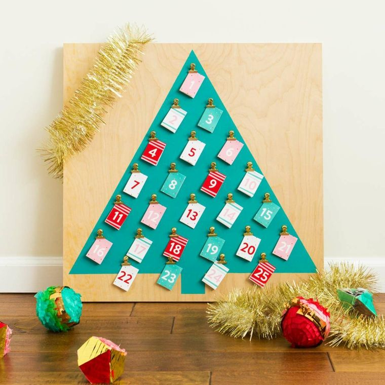 Lavoretti per bambini facili e un'idea con un calendario ...