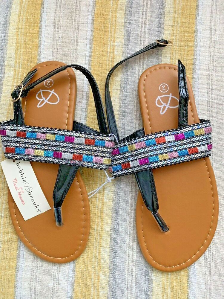de8a87d7a02 NWT Bobbie Brooks Girls Sandals Size 2 Medium Summertime Fun!!!  fashion   clothing  shoes  accessories  kidsclothingshoesaccs  girlsshoes (ebay link)